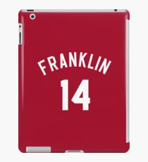"Earl ""The Goat"" Manigault 14 Benjamin Franklin High School Basketball  iPad Case/Skin"