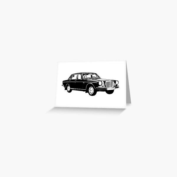 Retro Motor Company Greeting Card Volvo 440