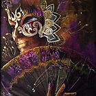 Mask with fan by dorina costras