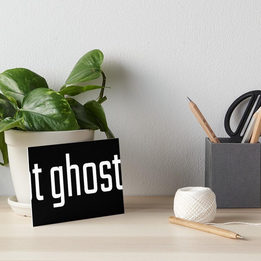 Got Ghosts? Art Board Print