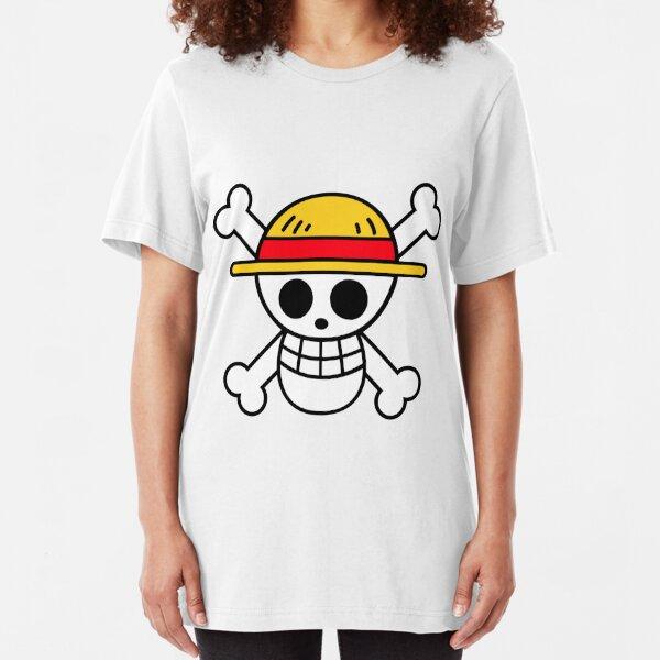 One Piece Logo Slim Fit T-Shirt