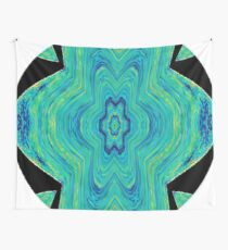 #Abstract, #pattern, #art, #design, kaleidoscope, psychedelic, decoration, shape, illustration Wall Tapestry