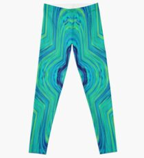 #Abstract, #pattern, #art, #design, kaleidoscope, psychedelic, decoration, shape, illustration Leggings