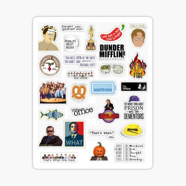 The Office Set 1 Sticker