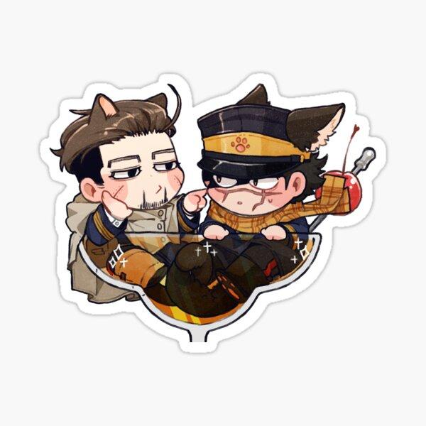 [GOLDEN KAMUY] GK  Sticker