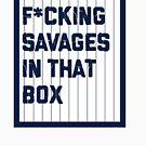 Fick die Wilden in den Box Yankees von kdelitto