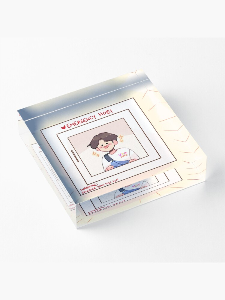 Alternate view of BTS: EMERGENCY HOBI! Acrylic Block