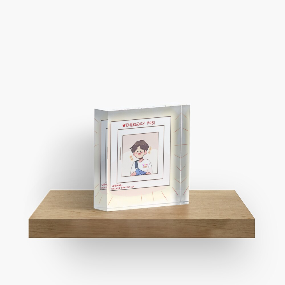 BTS: EMERGENCY HOBI! Acrylic Block