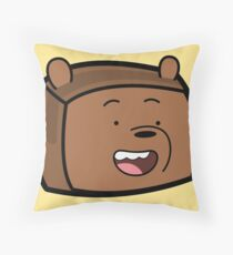 Grizzly - We Bare Bears Boxheadz Floor Pillow