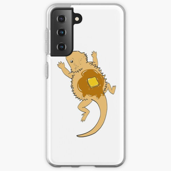 Pancake beardie Samsung Galaxy Soft Case