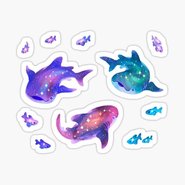 Kosmischer Walhai Sticker