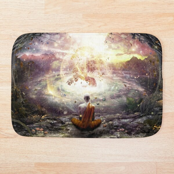 Nature And Time Bath Mat