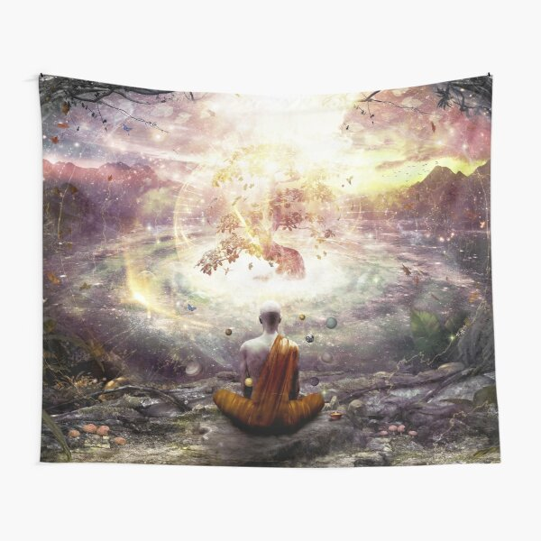 Nature And Time Tapestry