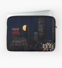 Blue Moon over The Apple Laptop Sleeve