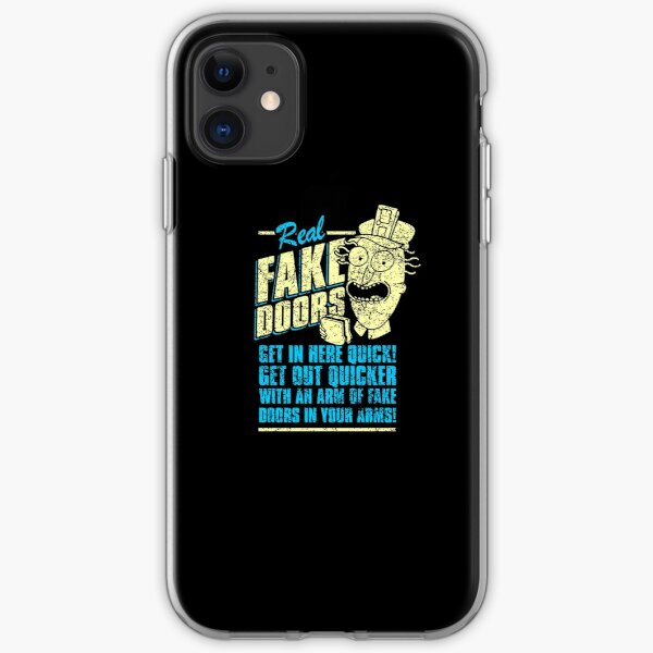Real Fake Doors Ad iPhone Soft Case