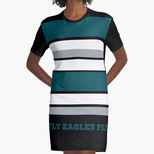 Eagles Fly Philadelphia Football Graphic T-Shirt Dress