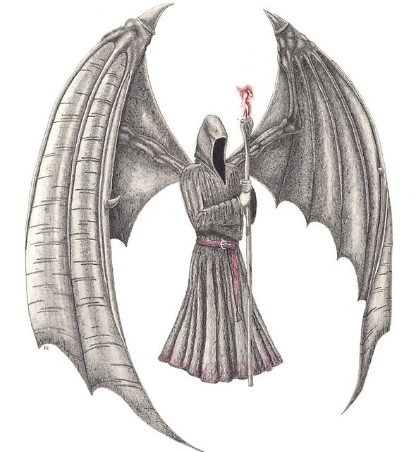 Archangel Michael by Lee Johnson