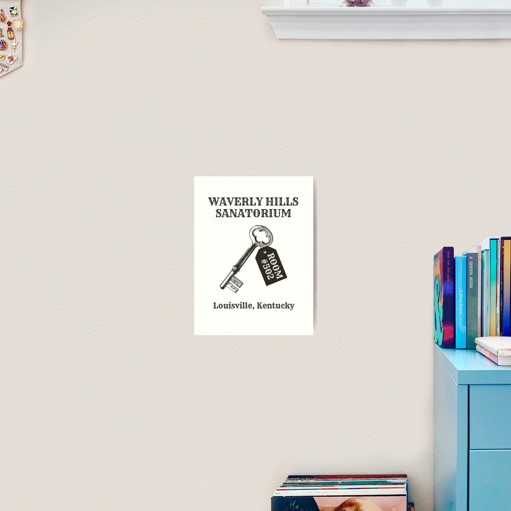 Waverly Hills Sanatorium Room 502 Art Print