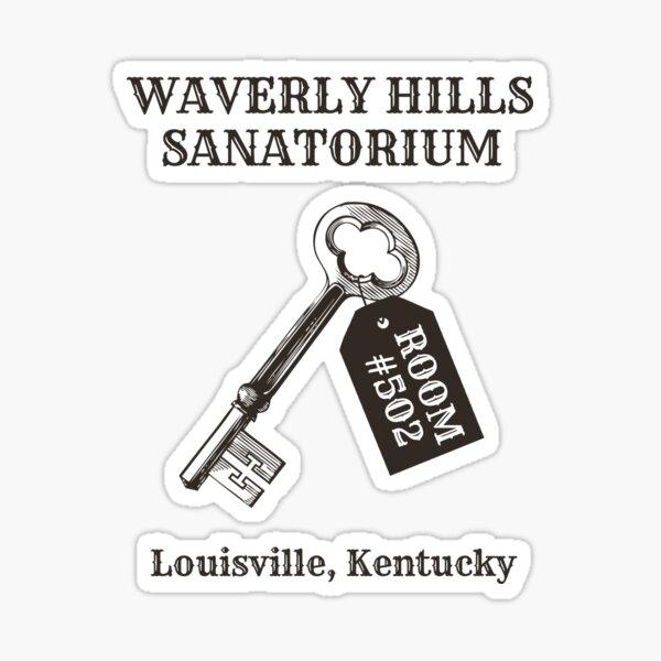Waverly Hills Sanatorium Zimmer 502 Sticker