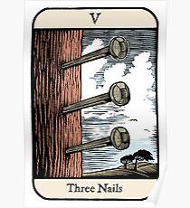 Three Nails Poster