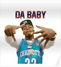 Sellasa Rap Dababy Hip-hop baby on baby Tour 2019 Poster