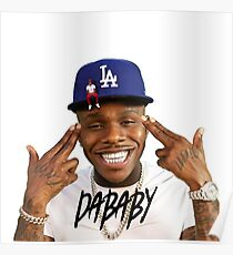 rabbo Rap Dababy Hip-hop baby on baby Tour 2019 Poster