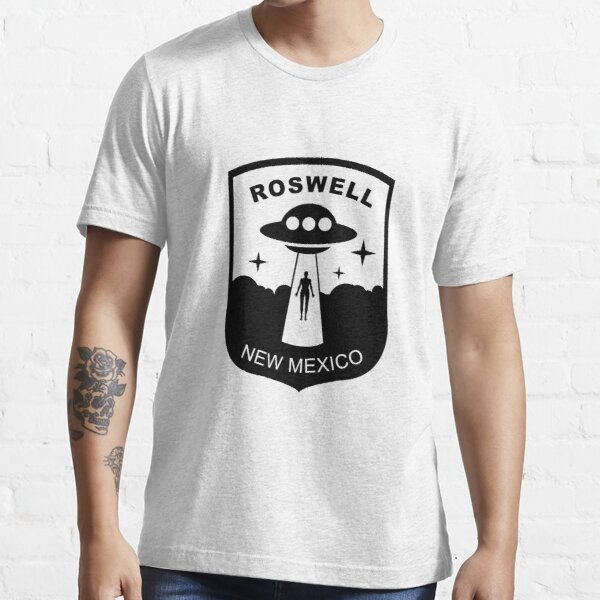 ROSWELL NEW MEXICO UFO CONSPIRICY PATCH Essential T-Shirt