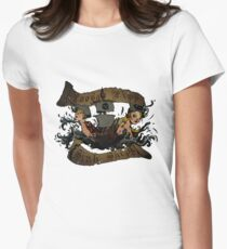 Loose Lips Sink Ships Tee Women's Fitted T-Shirt