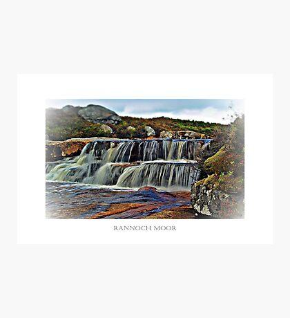 The Secret River Of Rannoch Moor. Photographic Print