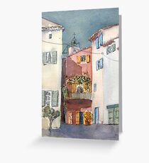 Village,Provence Greeting Card