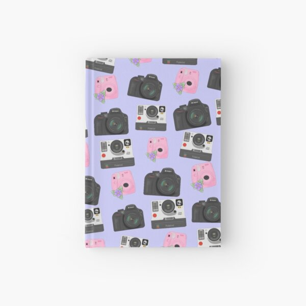 Mix of Cameras Hardcover Journal