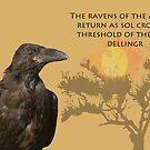 «El cuervo de odin» de Whisperingpeaks