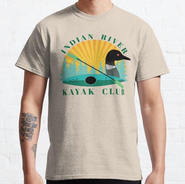 Indian River Kayak: Green Classic T-Shirt