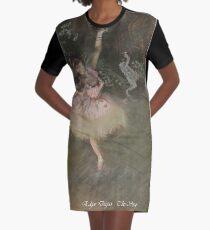Fashionable art of Edgar Degas painting, The Star Graphic T-Shirt Dress