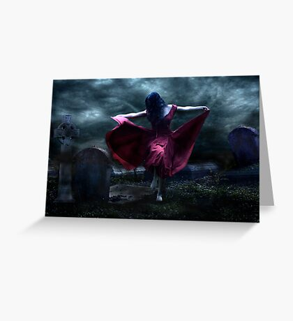 Grave Dancer Greeting Card