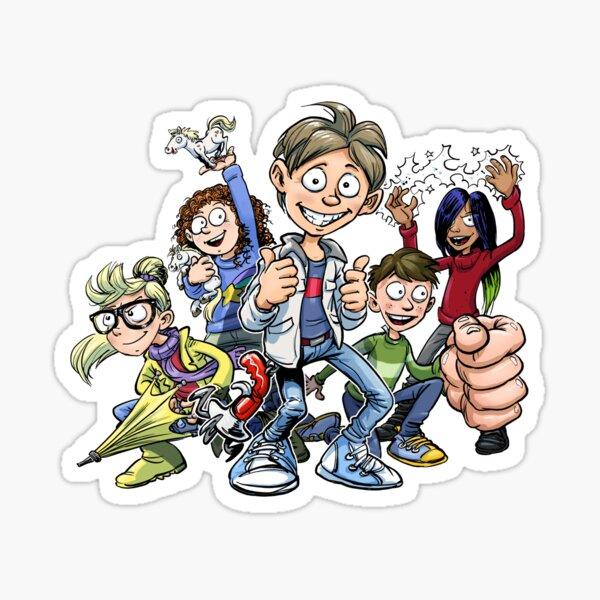 Kid Normal Crew Sticker