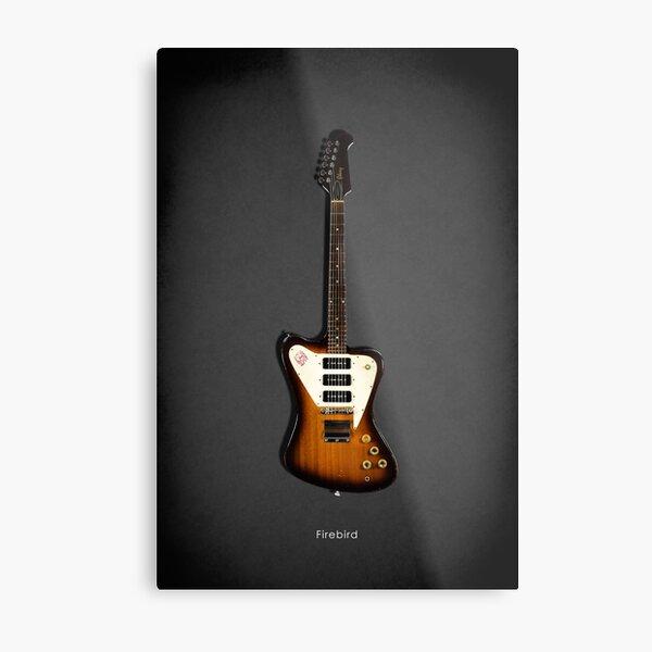 The Firebird Classic Guitar Metal Print