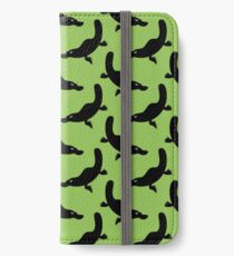 Angry Animals - Platypus iPhone Wallet/Case/Skin