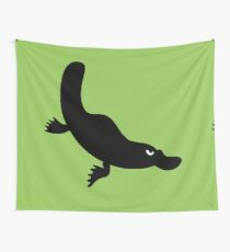 Angry Animals - Platypus Wall Tapestry