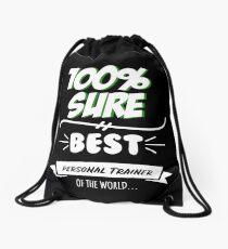 Personal Trainer Funny Slogan Hobby Work Worker Job Fun Saying Gift Drawstring Bag
