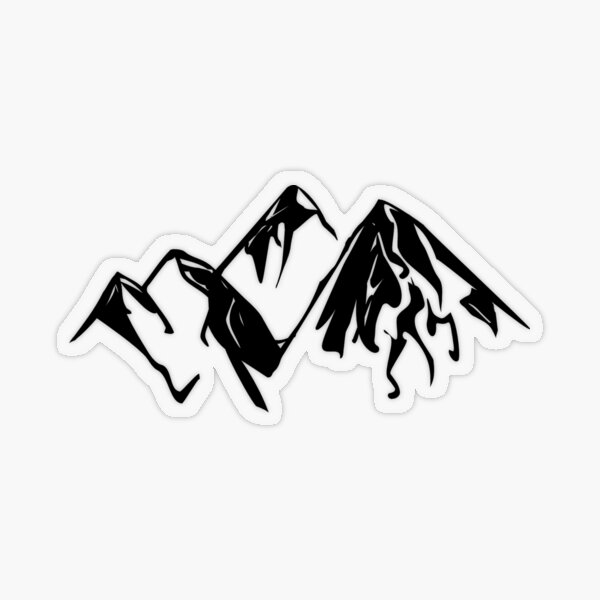 Montains is Calling my name i must go ASAP Transparent Sticker