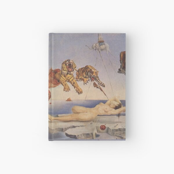 Salvador Dali, Dream Caused by the Flight of a Bee around a Pomegranate a Second before Awakening. Hardcover Journal