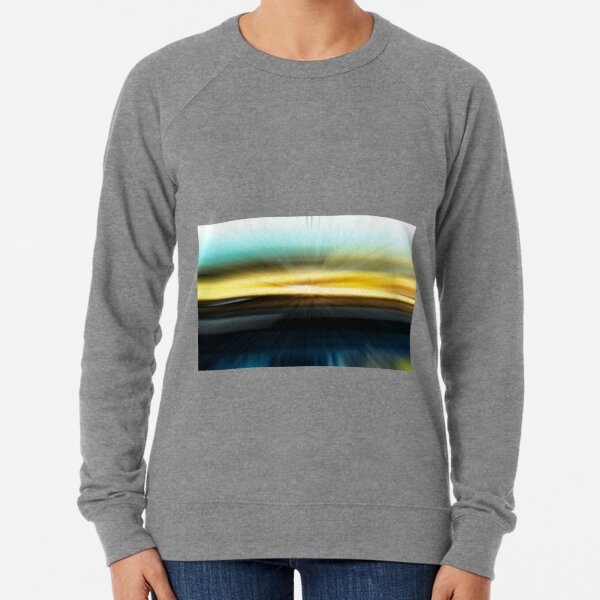 The Beach Abstract - 2  Lightweight Sweatshirt