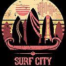 Surf City by artlahdesigns