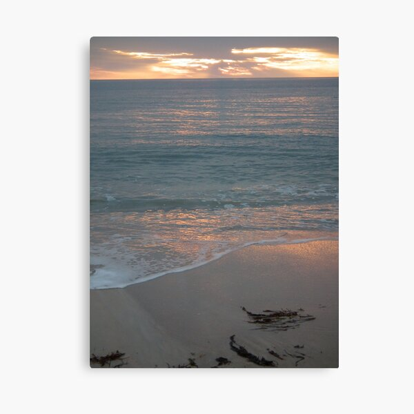 Sunset at Glenelg 1 Canvas Print