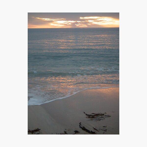 Sunset at Glenelg 1 Photographic Print