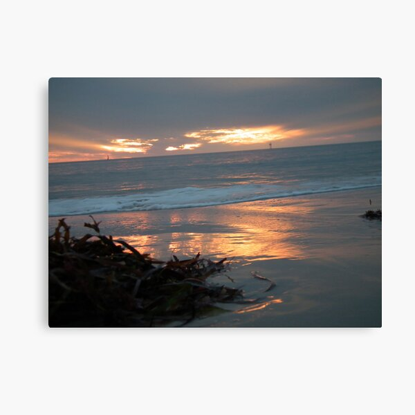 Sunset Glenelg 4 Canvas Print