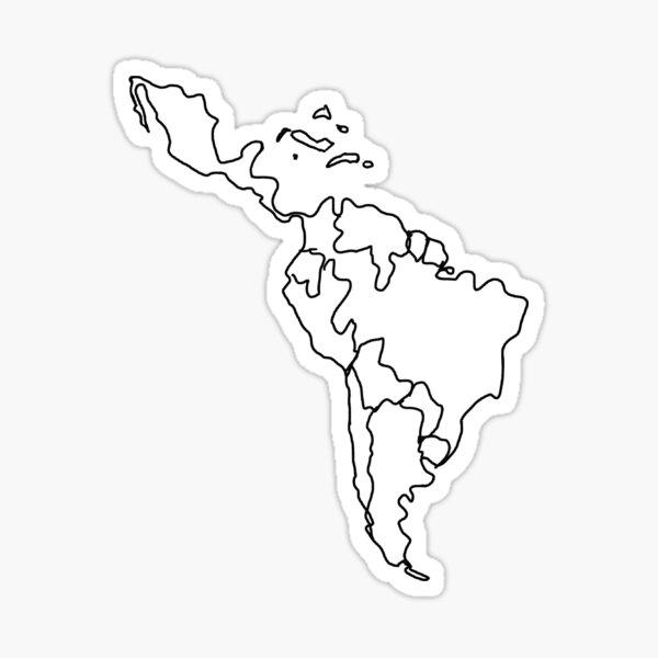 latin america Sticker