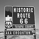 route 66 #7 by David Lee Thompson