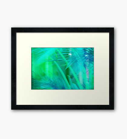 A Tropical Dream Framed Print